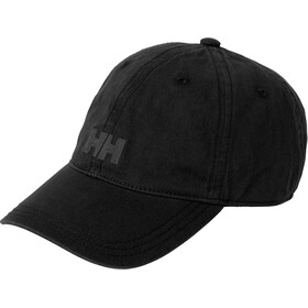 Helly Hansen Logo Cap Black